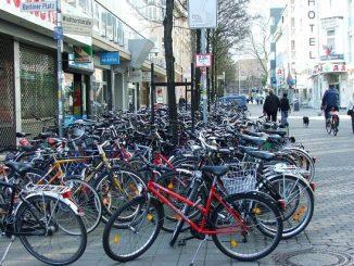 Kota Sepeda Muenster di Jerman