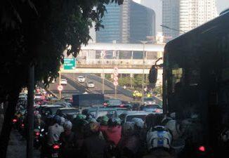 Kemacetan di Jakarta