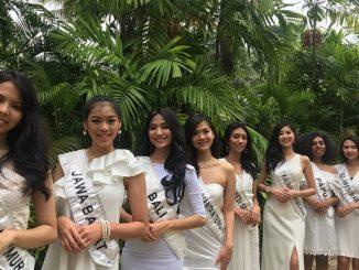 Para finalis Miss Indonesia 2018 (