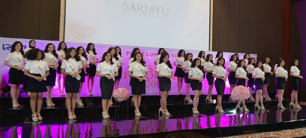 34 finalis Miss Indonesia 2018