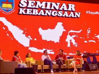 Edho Zell hadir di Seminar Kebangsaan, SPK PENABUR Kelapa Gading, Jakarta Utara, Sabtu, 11 Agustus 2018