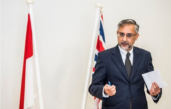 Duta Besar Inggris untuk Indonesia, Moazzam Malik (Foto:Antara)