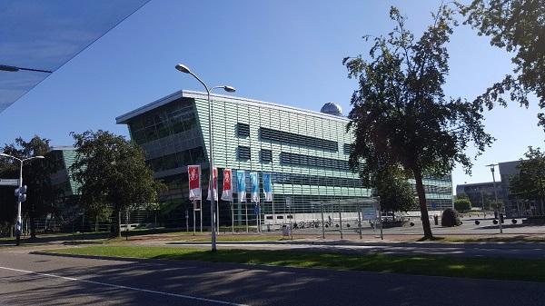 Gedung Faculty of Science di Radboud University