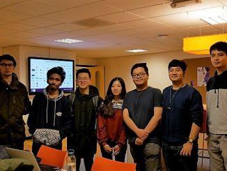 Albert, Amelia dan pelajar Indonesia lainnya yang sedang mengenyam pendidikan di ICT Fontys