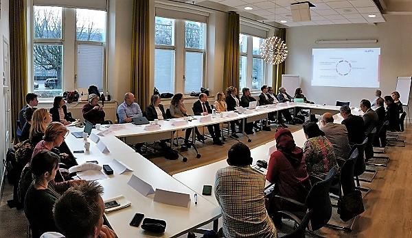 Diskusi LPDP, Nuffic dan sedikitnya 20 perwakilan perguruan tinggi Belanda di Kantor Nuffic, Den Haag, Belanda, Senin, 19 November 2018