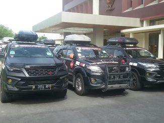 Klub Fortuner Touring ke Malaysia dan Brunei Darussalam