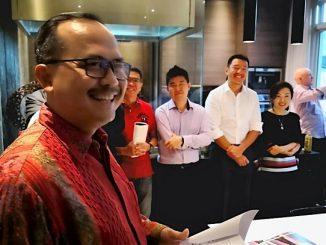Dubes Ngurah Swajaya Tawarkan Belitung pada Investor Aquaculture Singapura