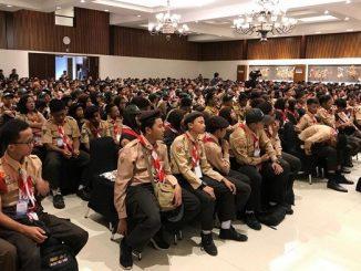 Siswa SMP Ikuti Kawah Kepemimpinan Pelajar (KKP)