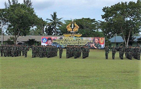 900 Prajurit TNI AD Ini Siap Jadi Guru di Daerah 3T
