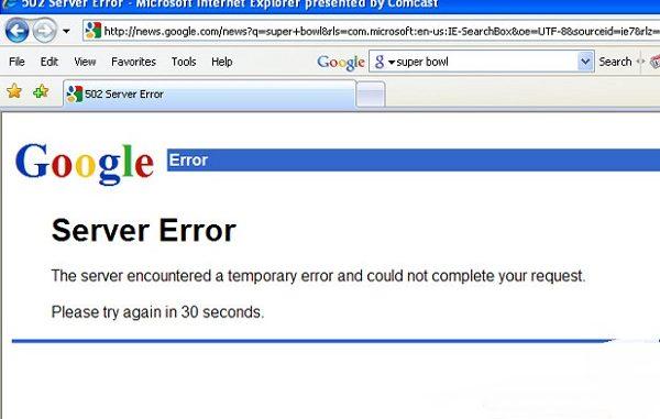 Downtime yang tidak terduga, baik dari Microsoft, Google atau AWS