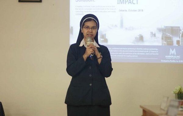 Sr. Lucia Yeni Wijayatri, CB: Korupsi Tidak Mengenal Gender