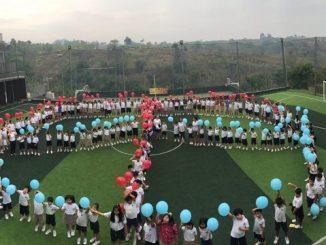 Peserta didik di Bina Bangsa School (BBS) Bandung