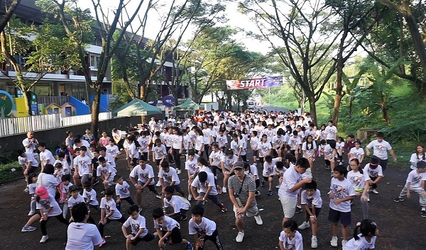 Run For Life 2019 di Bina Bangsa School (BBS) Bandung
