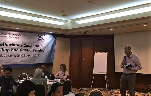 Direktur Nuffic Neso Indonesia, Peter van Tuijl