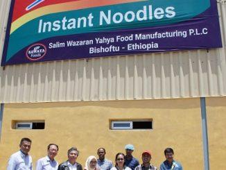 Pabrik Indomie dari PT Indofood di Ethiopia