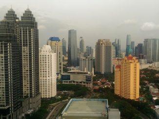 Kawasan Perkantoran SCBD di Jakarta