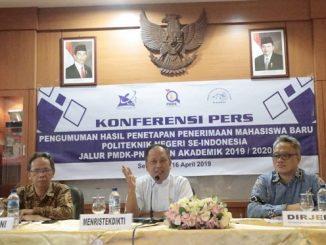Pengumuman Hasil PMDK-PN 2019