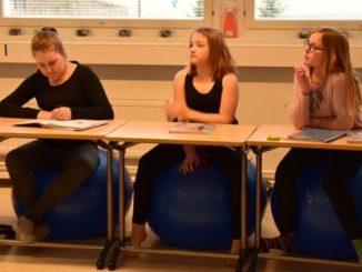 Suasana sekolah di Finlandia
