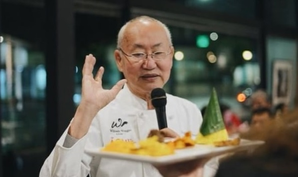 Ahli kuliner kenamaan William Wongso