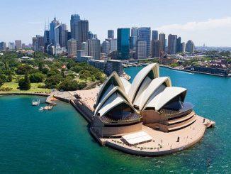 Sydney Opera House di Australia