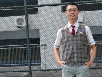 Dipasukha Edbert dari SMA Kristen Penabur Harapan Indah Bekasi