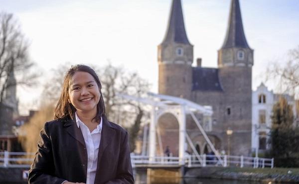 Wakil Ketua Komisi Energi PPI Dunia 2018/2019 PPI Belanda, Grace Triana Peranginangin