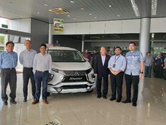 Peluncuran All New Mitsubishi Xpander tersebut diadakan di Show Room GHK Motors, Brunei pada 17 Mei 2019