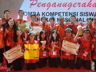 Peserta didik di SMK IMMANUEL Pontianak