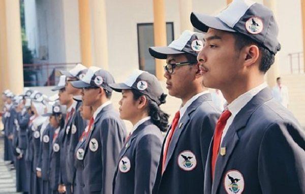 Peserta didik SMA Negeri Unggulan MH Thamrin
