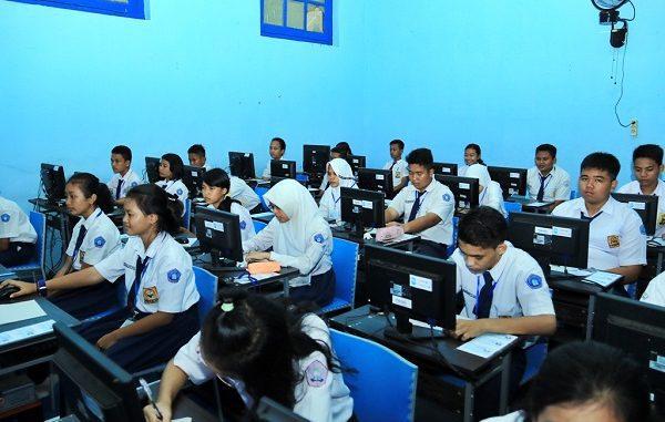 Ujian Nasional (UN) jenjang SMP di Pangkalpinang