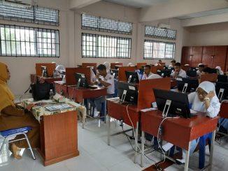 Ujian Nasional Berbasis Komputer di SMA Negeri 2 Tanjungpinang