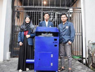Mahasiswa POLINES Ciptakan Perangkat Pengaman Kebocoran Gas LPG. (Dok. POLINES)