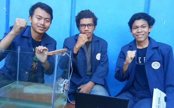 Mahasiswa Unair Penemu Alat Pendeteksi Tsunami