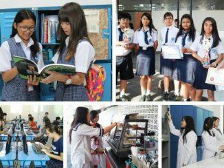 Peserta didik di SMP Maria Regina
