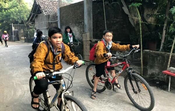 SDK PENABUR Jakarta menikmati program SPIRIT 2019 di Yogyakarta