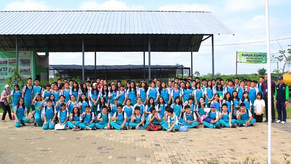 Peserta didik SMP Ignatius Global School (IGS) Palembang