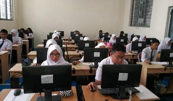 Peserta didik di SMP Negeri 5 Yogyakarta
