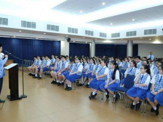 Peserta didik di SMP Kristen 2 PENABUR Jakarta
