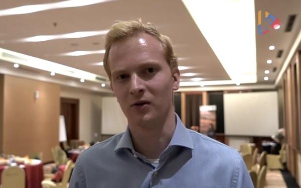 Staf Penasihat Bagian Politik Kedutaan Belanda di Jakarta Roy Spijkerboer