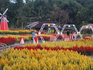 Taman Sukowati di Dusun Candi, Desa Sumber, Kecamatan Dukun, Kabupaten Magelang