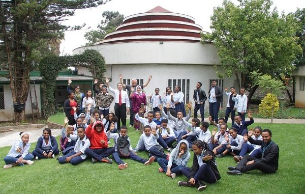 Pelajar SMP di Addis Ababa, Afrika