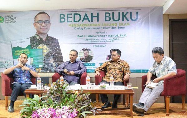 Buku Abdurrahman Mas'ud Mendakwahkan Smiling Islam: Dialog Kemanusiaan Islam dan Barat
