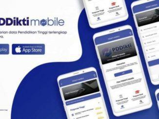 Aplikasi PDDikti Mobile