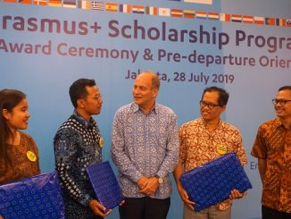 Award Ceremony and Pre-Departure Orientation Erasmus Plus Scholarship 2019