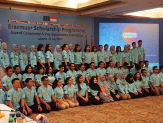 Awardees Beasiswa Erasmus Plus 2019