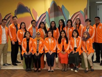 Awardees Orange Tulip Scholarship (OTS) 2019-2020 di acara Orange Tulip Scholarship Awardees Gathering