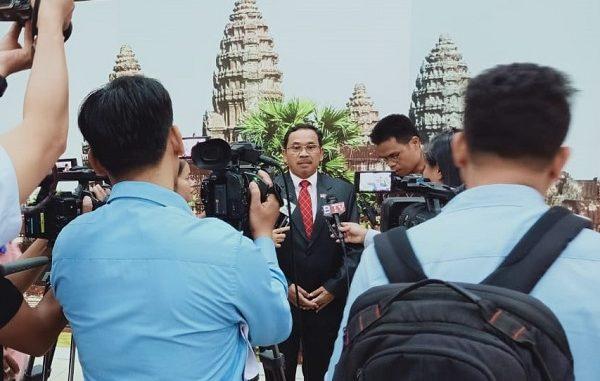 Duta Besar RI untuk Kerajaan Kamboja, Sudirman Haseng
