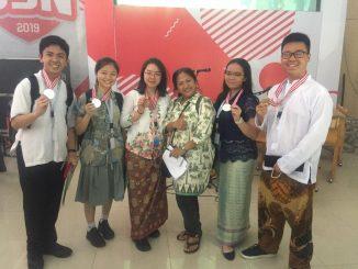 Hasil OSN SMA/MA 2019, SMAK PENABUR Jakarta