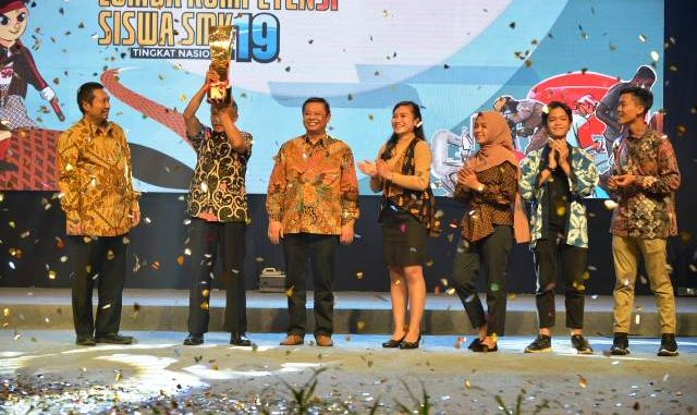 Jawa Tengah Juara Umum LKS SMK 2019 (dok. Panitia)