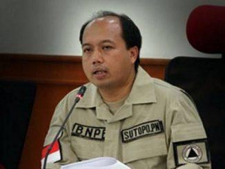 Kepala Pusat Data, Informasi, dan Humas BNPB Sutopo Purwo Nugroho